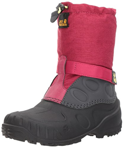Jack Wolfskin Dziecięce buty zimowe Iceland High K, czerwony - czerwony Azalea Red 2081-37 eu