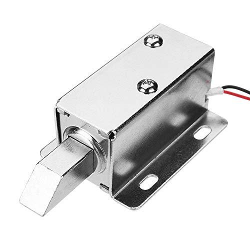 Elektroschloss, 24 V Gleichstrom, Magnetspule, lange Verriegelung, für Schrank und Schublade