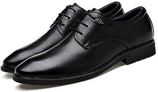 [Transfine] ビジネスシューズ メンズ フォーマル 革靴 通勤靴 レザー ワニ柄 クロコダイル レースアップ ロングノーズ