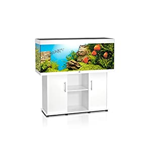 Juwel-Aquariumkombination-Rio-400-Aquarium-mit-Unterschrank-wei