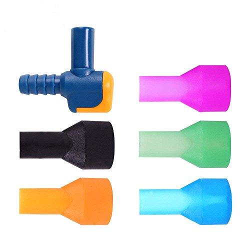 ON-off-Switch-Biss-Ventil Rohr-Mundstücke Ersatz kompatibel mit den meisten Marken Düsen Ersatz für Wasserblase hydratationsset zugänglich