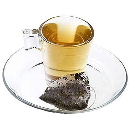 Aromas de Té - Infusión Poleo Menta - Digestiva Expectorante - Hojas de Poleo y Menta - Relajante y refrescante - Agradable Sensación en Boca - Efecto Relajante - 10 pirámides