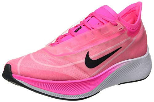 Nike Wmns Zoom Fly 3, Zapatillas de Trail Running Mujer, Multicolor (Pink Blast/True Berry/Atmosphere Grey 600), 42.5 EU