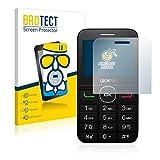 BROTECT Protector Pantalla Cristal Mate Compatible con Alcatel One Touch OT-2008G Protector Pantalla Anti-Reflejos Vidrio, AirGlass