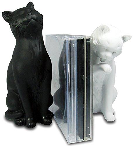 Serre-livre Misters chats Couleur Multicolore Matière Résine