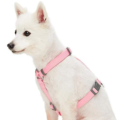 Umi. Essential, Imbracatura Classica Regolabile per Cani, Taglia S, Colore Rosa Tinta Unita, per Uso Quotidiano