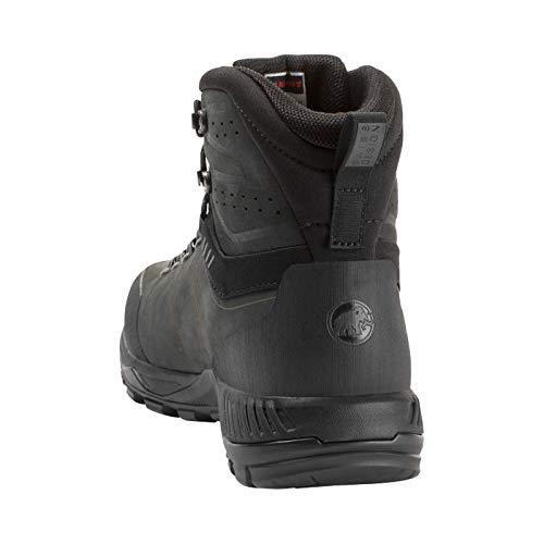 Mammut Mercury Tour II High GTX, Chaussures de Randonnée Hautes Homme, Noir (Black-Black 0052)