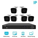Laview 1080p home security camera system, 8 channel NVR recorder
