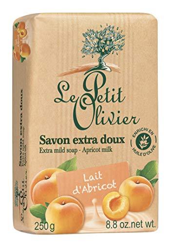Le Petit Olivier - savon extra doux - lait d'abricot - apricot milk - 250g