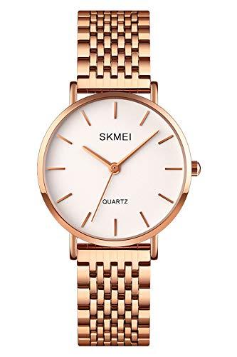 Reloj - SKMEI - Para Mujer - LemaiskmQ027 ROSEGOLD