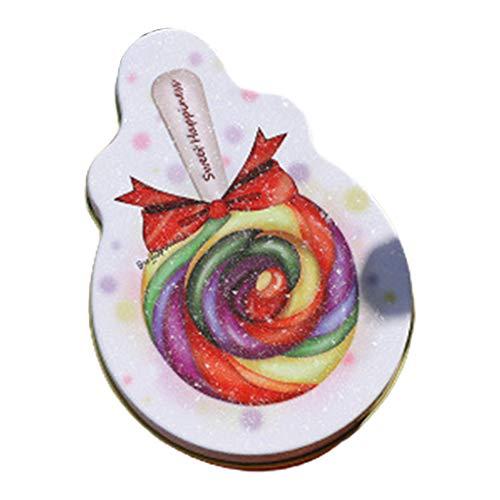 NOWON Elegante Leere Weißblechdosen aus Metall, lollipopförmige Schachteln für DIY-Kerzen, Süßigkeiten