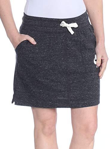NIKE Sportswear Gym Vintage Falda Mujer Negro S (Small)