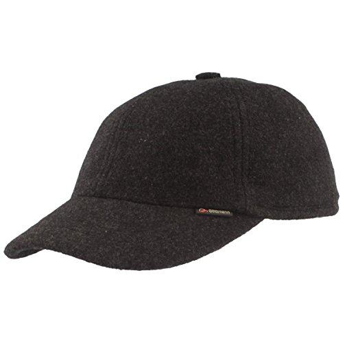 Göttmann Baseball Cap mit Ohrenklappen, anthrazit, Größe 60