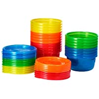 20-Pack The First Years Take & Toss Storage Bowls Value Set