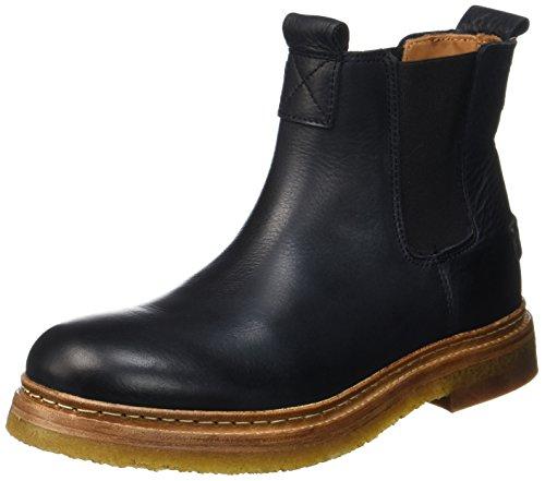 Shabbies Amsterdam Damen Chelsea Boots, Schwarz (Black), 39 EU