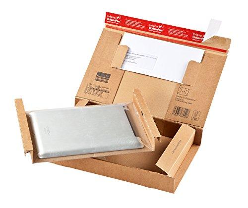 ColomPac CP066.04 Paket Versandkarton aus Wellpappe, 300 x 212 x 43 mm, braun, 20er Pack