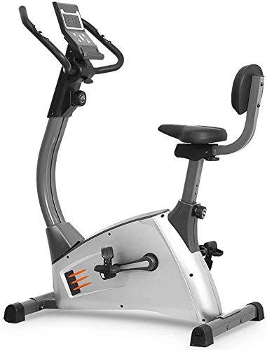 KANJJ-YU Bicicleta estática magnética reclinada – Máquina de ciclo – Equipo de fitness estacionario para interior – Para gimnasio en casa, entrenamiento cardiovascular, ejercicio en casa