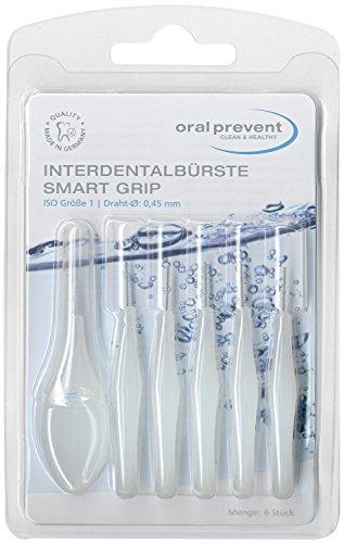 Oral Prevent Interdentalbürste Smart Grip 0,45 mm weiß, 6 St