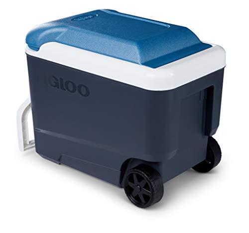Igloo Maxcold 40Nevera con Ruedas, 38 litros, Azul