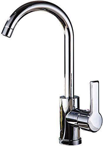 BXU-BG Grifo mezclador de cocina para fregadero bajo el fregadero, lavabo, lavabo, gabinete de baño, lavabo de tres vías grande, grifo de cocina y grifo frío