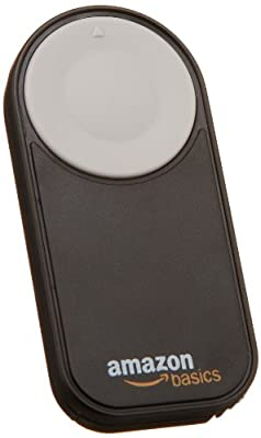 AmazonBasics Wireless Remote Control for Canon and Nikon DSLR Cameras