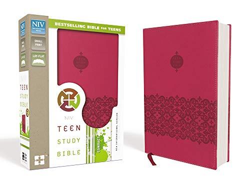 NIV, Teen Study Bible, Compact, Leathersoft, Pink