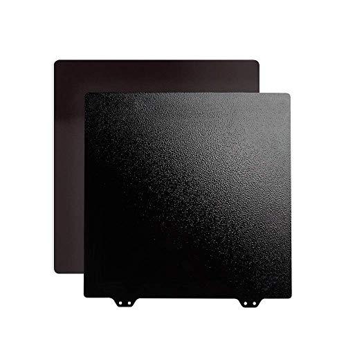 BCZAMD Ender 3 Upgrade Build superficie, cama calefactora de doble cara, muelle de Pei con recubrimiento de polvo con base de montaje magnética B para impresora 3D Ender 3 Pro 235 x 235 mm