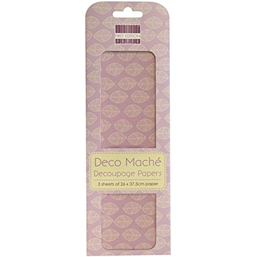 Trimcraft Deco Mache Paper New Bloom, 10.25-Inch by 14.75-Inch, Leaf Repeat