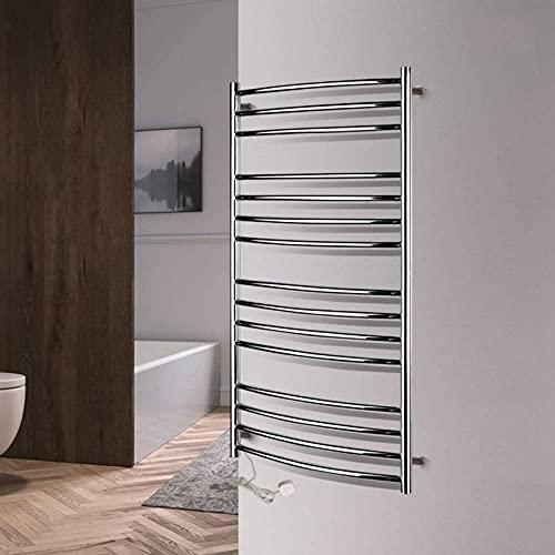 N/Z Mobiliario para el hogar Calentador de Toallas montado en la Pared Enchufe eléctrico/Calentador con Cable Toallero de Acero Inoxidable 304 Espejo de Pulido cableado