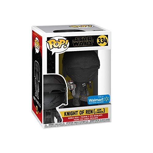 Funko ¡Pop Exclusivo Star Wars: Rise of Skywalker - Caballero de REN (canon del Brazo)