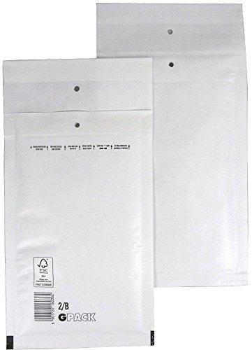 50 Luftpolsterumschlag Luftpolstertasche Versandtasche 2/B 140x225 mm