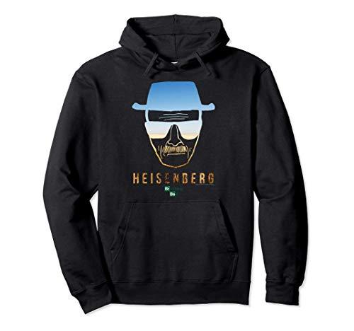 Breaking Bad Heisenberg Desert Horizon Outline Felpa con Cappuccio