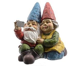 Cheeky Outdoor Garden Couple Selfie
