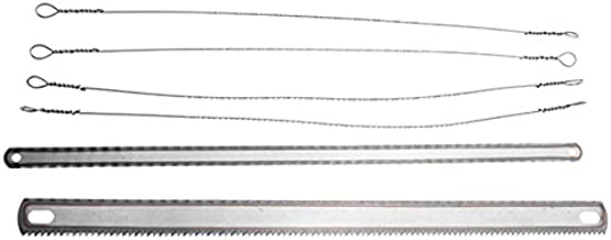 LMIAOM Hoja de sierra multifuncional de hoja de sierra 6pcs para madera de metal Accesorios de hardware Herramientas de bricolaje
