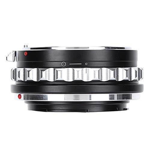 Vbestlife Anillo Adaptador de Lente, Anillo Adaptador de Lente Duradero de aleación de Aluminio Manual Completo para Nikon Lente de Montaje G para Canon Adaptarse a cámara EOS R/RP