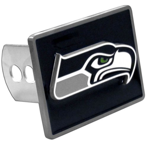 Siskiyou-FTH155 Seattle Seahawks NFL Hitch Cover, Black