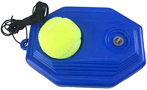 Massage-AED Tennistrainer Ball und Bodenplatte mit Gummischnur Solo Tennistraining Set