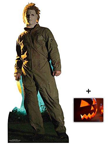 Michael Myers Halloween Classic Pose Lebensgrosse Pappaufsteller mit 25cm x 20cm foto