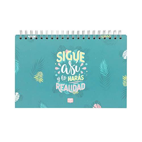 Organizador semanal espiral -Sigue así