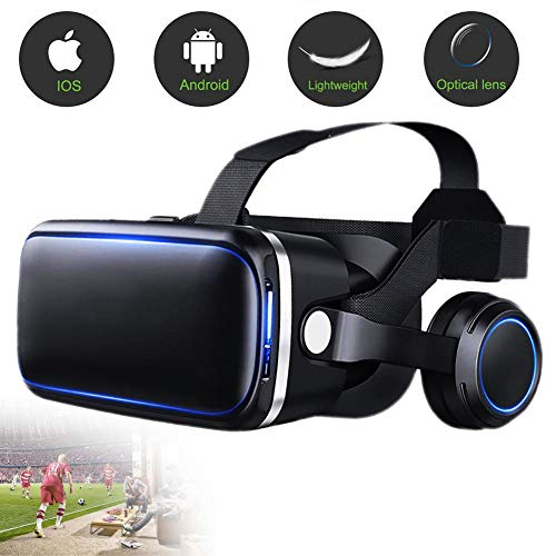 VR Glasses, VR Headset Virtual Reality, soft, adjustable myopia for Smartphone Screen Support Android Win and IOS Suitable for iPhone 11 Pro/iPhone XS Max/iPhone 8/8Plus/7/7Plus Samsung Galaxy Series