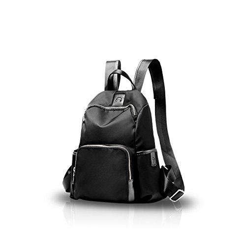 NICOLE&DORIS Studentessa scuola borsa da viaggio zaino Daypack spalla moda durevole Peso leggero impermeabile di Oxford