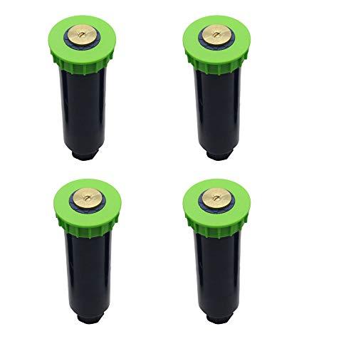 Verstelbaar Pop-up Sprinklers met 1/2 inch Vrouwelijke tred 90-360 graden Automatisch intrekbaar Gazonsproeier,4pcs,90