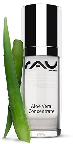 RAU Aloe Vera Concentrate 30ml – Feuchtigkeits-Serum mit der Heilpflanze Aloe Vera, After Sun