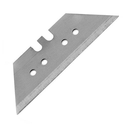 KREATOR KRT000400 Lote de cuchillas de recambio para cúter (10 unidades, 60 x 19 mm, acero)
