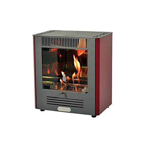 Divina Fire stufa a bioetanolo 2300W bruciatore regolabile riscaldamento ALPHA