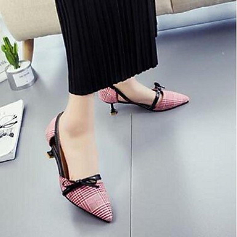 Women'sHeels Comfort Fabric Casual Low Heel