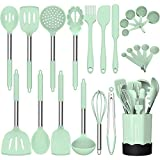 Silicone Cooking Utensil Set, Fungun Non-stick Kitchen Utensil 24 Pcs Cooking...