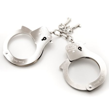 Fifty Shades Of Grey You Are Mine Metal Handcuffs by Fifty Shades of Grey
