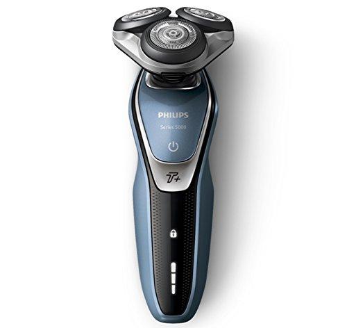 Philips Series 5000 Elektrorasierer mit Multipräzisionsklingen, Aquatec Wet & Dry-Technologie/Turbo-Modus +