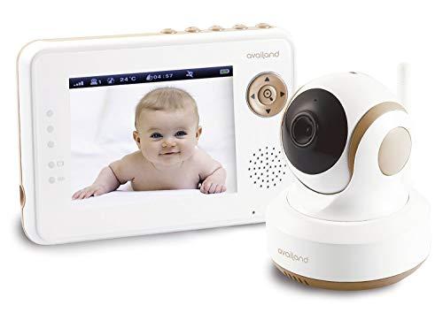Vigilabebés Availand Follow Baby - Cámara motorizada con seguimiento automático del bebé...
